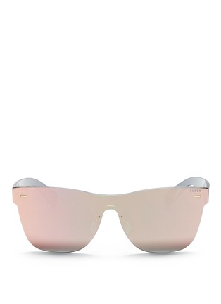 Main View - Click To Enlarge - SUPER - 'Tuttolente Classic' rimless all lens D-frame sunglasses
