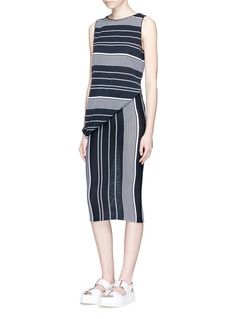 Stella McCartney Stripe sleeveless knit dress