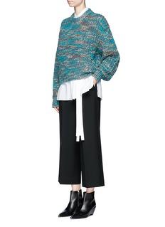 Acne Studios'Zora' chunky knit sweater