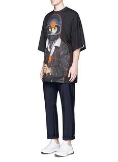 Christopher KaneTarget print oversized T-shirt