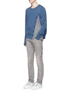 Maison MargielaSlim fit scar stitch jeans