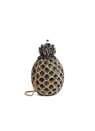 Figure View - Click To Enlarge - Judith Leiber - 'Pineapple' crystal pavé minaudière