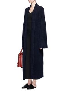 The Row'Meryl' wrap cashmere blend long cardigan