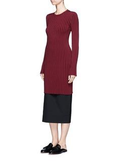 Elizabeth and James'Penny' slim rib knit dress