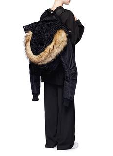 FENTY PUMA by RihannaBomber jacket backpack
