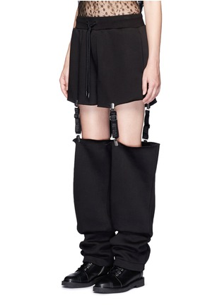 Front View - Click To Enlarge - FENTY PUMA by Rihanna - Suspender strap sweatpants