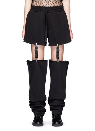 Main View - Click To Enlarge - FENTY PUMA by Rihanna - Suspender strap sweatpants