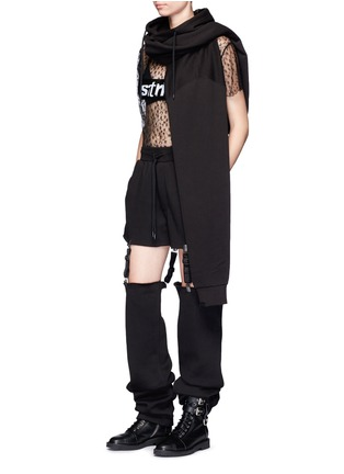 Figure View - Click To Enlarge - FENTY PUMA by Rihanna - Suspender strap sweatpants