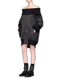 FENTY PUMA by RihannaOff-shoulder padded bomber jacket