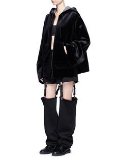 FENTY PUMA by RihannaVelvet neoprene zip hoodie