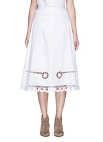 'Midi Bellanca' folk embroidery skirt