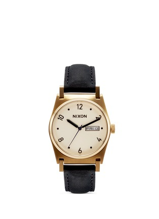 Main View - Click To Enlarge - Nixon - 'Jane Leather' watch