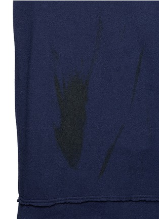 Detail View - Click To Enlarge - Song for the Mute - Brush stroke print silk sweater