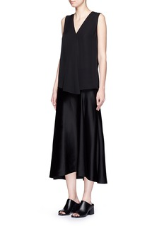 THEORY 'Meighlan' silk georgette sleeveless top