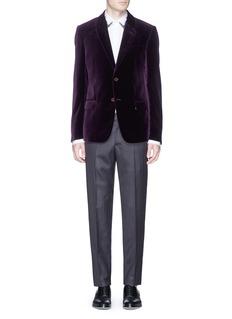 Alexander McQueenBeaded collar shirt