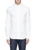 'Pin' raglan sleeve poplin shirt