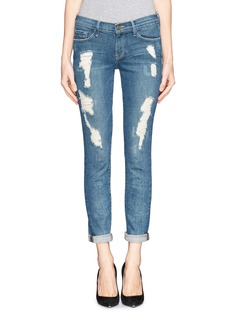 FRAME DENIM 'Le skinny de Jeanne' distressed jeans