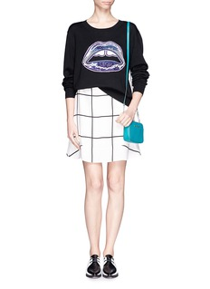 MARKUS LUPFER 'Lara Lip' sequin sweater