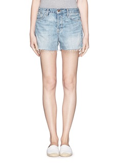 J BRAND Carly tomboy denim shorts