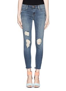J BRANDCropped rip detail jeans