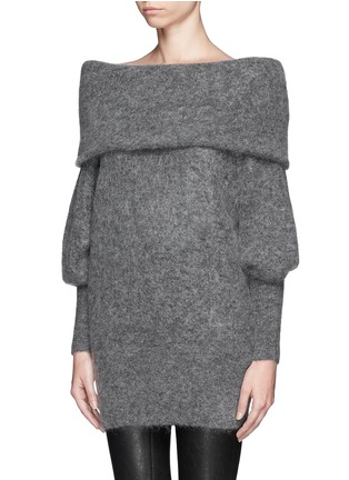 Front View - Click To Enlarge - Acne Studios - 'Daze' oversize cowl neck sweater