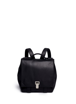 Main View - Click To Enlarge - Proenza Schouler - 'PS Courier' large leather backpack