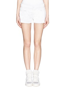 J BRAND Rita side zip cut-off shorts