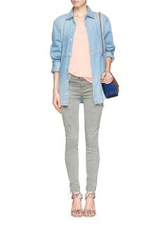 J BRANDKassidy skinny zip utility jeans