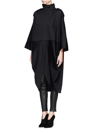Front View - Click To Enlarge - Acne Studios - 'Ezra' cocoon coat
