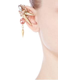ASSAD MOUNSERDrop crystal spike single earcuff