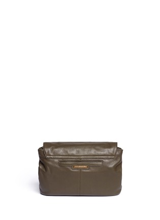 Back View - Click To Enlarge - Elizabeth and James - Medium chain strap leather shoulder bag
