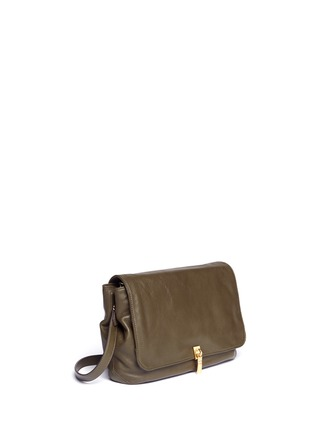 Front View - Click To Enlarge - Elizabeth and James - Medium chain strap leather shoulder bag