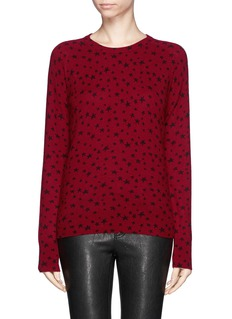 EQUIPMENT 'Sloane' star print cashmere sweater
