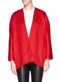MS MINWrap front pleat back jacket