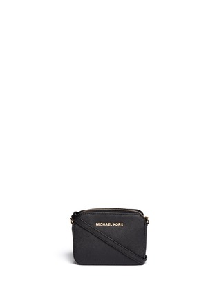 Main View - Click To Enlarge - Michael Kors - 'Jet Set Travel' petite saffiano leather crossbody