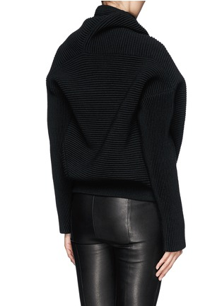 Back View - Click To Enlarge - Acne Studios - 'Galactic' oversize chunky knit turtleneck sweater