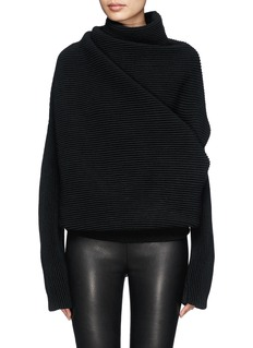 ACNE STUDIOS 'Galactic' oversize chunky knit turtleneck sweater