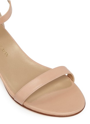 Detail View - Click To Enlarge - Stuart Weitzman - 'Nudist June' leather sandals