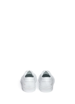 Back View - Click To Enlarge - Common Projects - 'Original Achilles' nappa leather sneakers