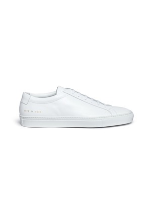 Main View - Click To Enlarge - Common Projects - 'Original Achilles' nappa leather sneakers