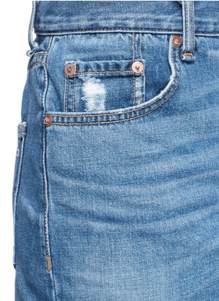 Detail View - Click To Enlarge - rag & bone/JEAN - O Ring' denim skirt