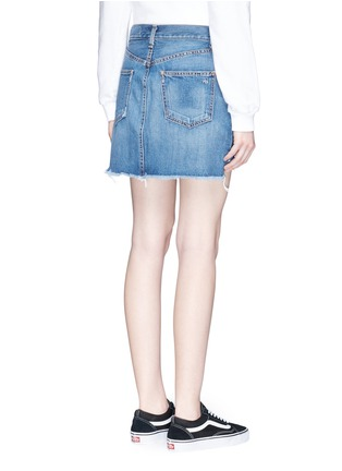 Back View - Click To Enlarge - rag & bone/JEAN - O Ring' denim skirt