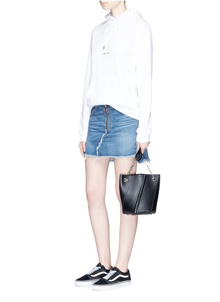 Figure View - Click To Enlarge - rag & bone/JEAN - O Ring' denim skirt