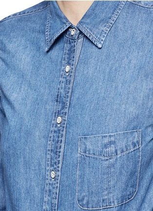 Detail View - Click To Enlarge - rag & bone/JEAN - 'Classic' cotton chambray shirt