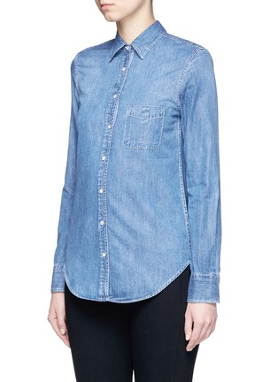 Front View - Click To Enlarge - rag & bone/JEAN - 'Classic' cotton chambray shirt