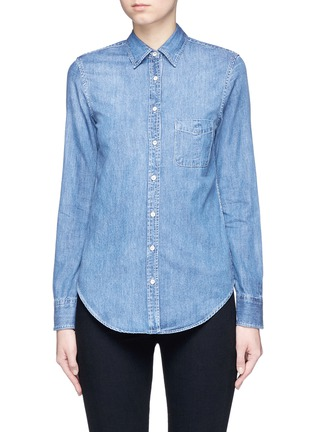 Main View - Click To Enlarge - rag & bone/JEAN - 'Classic' cotton chambray shirt