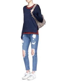 rag & bone/JEAN'Mia' drape open back jersey top