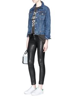 rag & bone/JEAN'Cuffless' denim jacket