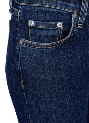 Detail View - Click To Enlarge - rag & bone/JEAN - 'Stevie' tie cuff cropped skinny jeans