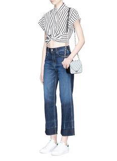 rag & bone/JEAN'Lou' vintage wash cropped jeans